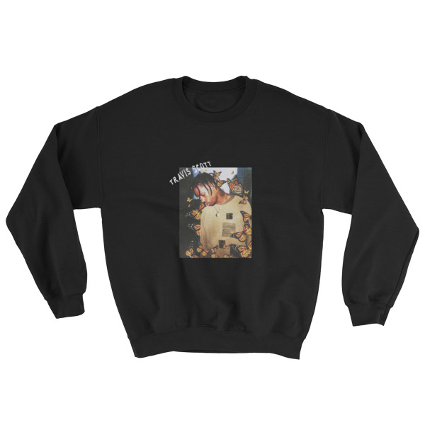 fb9d0b3f01cd Travis Scott Butterfly Effect Sweatshirt - Cheap Graphic Tees