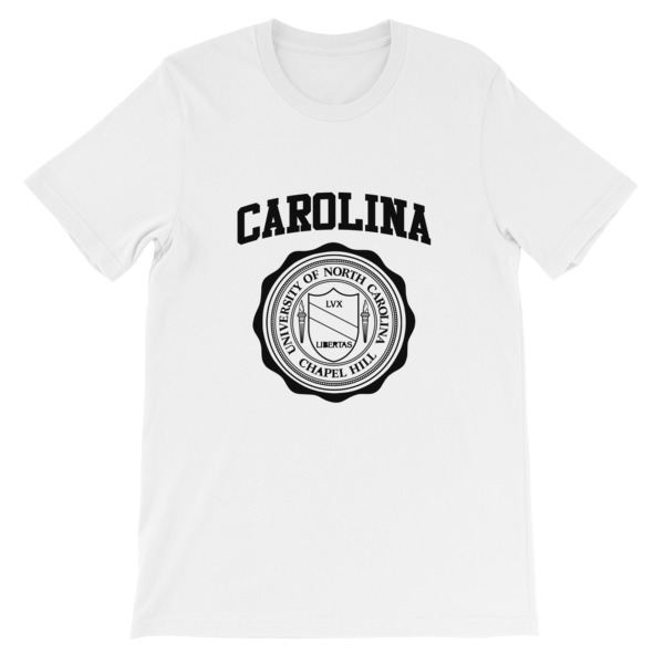 mockup 17ba8fd4 - University of North Carolina Short-Sleeve Unisex T-Shirt