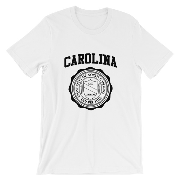 mockup 29cb5eea - University of North Carolina Short-Sleeve Unisex T-Shirt