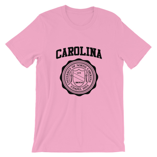 mockup 2e1bb2de - University of North Carolina Short-Sleeve Unisex T-Shirt