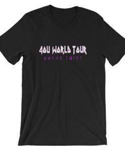 4ou World Tour Short Sleeve Unisex T Shirt