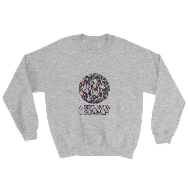 mockup 5a7a885a - 5 Sos floral 23 Sweatshirt