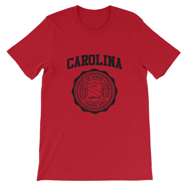 mockup 5d8403c0 - University of North Carolina Short-Sleeve Unisex T-Shirt