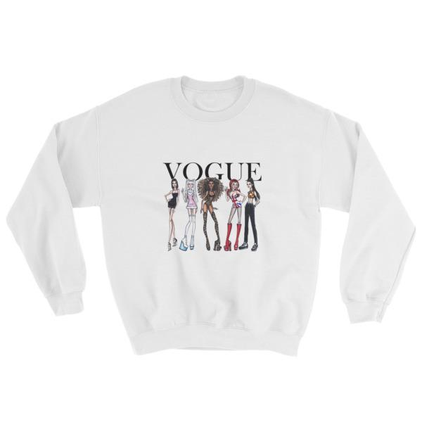 4eaef98f1 Spice Girls Vogue Sweatshirt - Cheap Graphic Tees