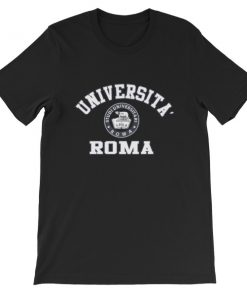 mockup 8c9b561f 247x296 - Universita Roma Short-Sleeve Unisex T-Shirt