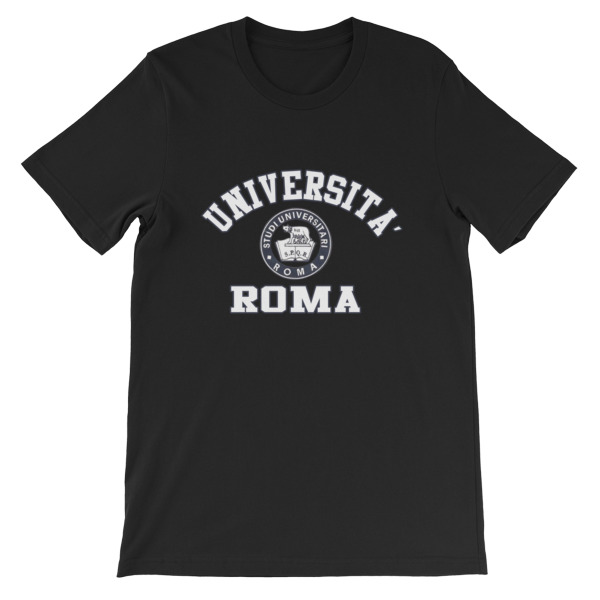 mockup 8c9b561f - Universita Roma Short-Sleeve Unisex T-Shirt