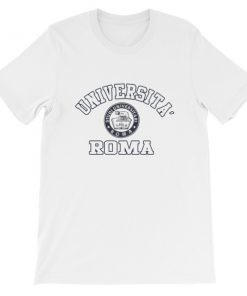 mockup 94a6a211 247x296 - Universita Roma Short-Sleeve Unisex T-Shirt