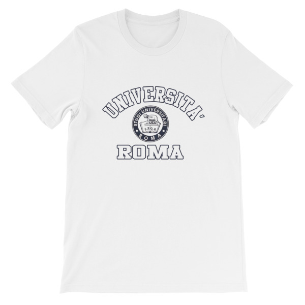 mockup 94a6a211 - Universita Roma Short-Sleeve Unisex T-Shirt