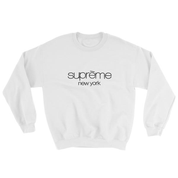71bd6a34 Supreme New york Sweatshirt - Cheap Graphic Tees