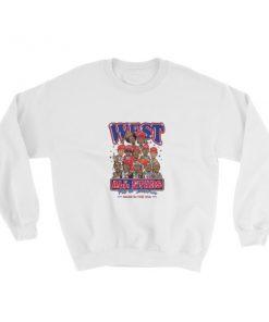 mockup c88d68df 247x296 - West cartoon parody all star Sweatshirt