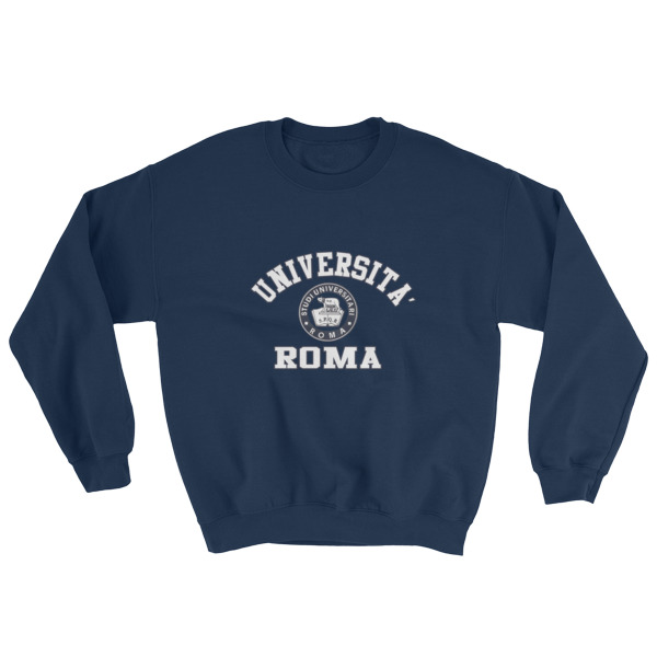 7f0a59c33 Universita Roma Sweatshirt - Cheap Graphic Tees