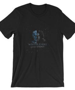 mockup ec0c2b8d 247x296 - Winter Is Here Short-Sleeve Unisex T-Shirt