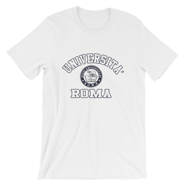 mockup f7e60b10 - Universita Roma Short-Sleeve Unisex T-Shirt