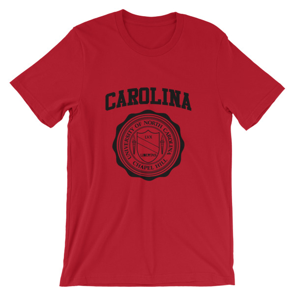 mockup f829006f - University of North Carolina Short-Sleeve Unisex T-Shirt