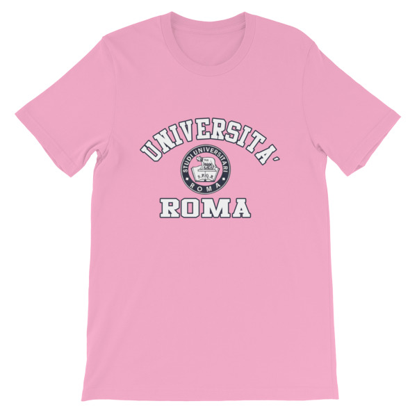 mockup fd474636 - Universita Roma Short-Sleeve Unisex T-Shirt