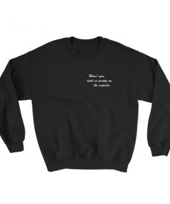 mockup 22766765 247x296 - Wow You Look So Pretty On The Outside Sweatshirt