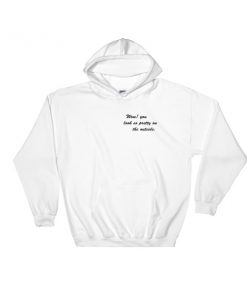 mockup 94646701 247x296 - Wow You Look So Pretty On The Outside Hooded Sweatshirt
