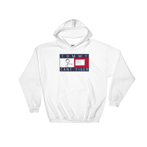 Tommy Cant Finger Parody Hooded Sweatshirt