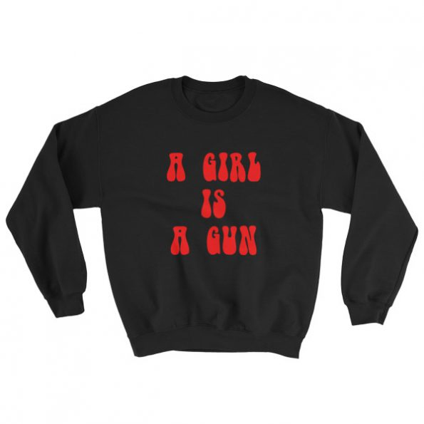 mockup 68268b38 595x595 - a girl is a gun Sweatshirt