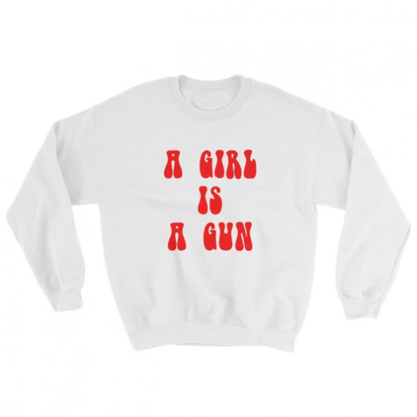 mockup 72340f91 595x595 - a girl is a gun Sweatshirt