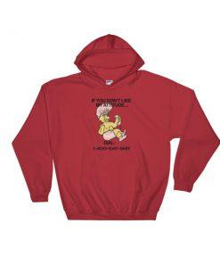 1 800 Eat Shit Troll Doll Hooded Sweatshirt