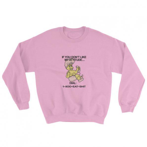 1 800 Eat Shit Troll Doll Sweatshirt