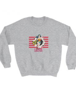 mockup 2933be3f 247x296 - Wonder Woman I Love Gaultier Sweatshirt