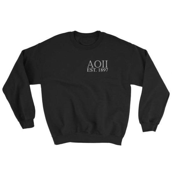 Aoii Est 1897 Kind Of Guy Sweatshirt