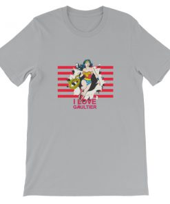 mockup 5ff5dfae 247x296 - Wonder Woman I Love Gaultier Short-Sleeve Unisex T-Shirt