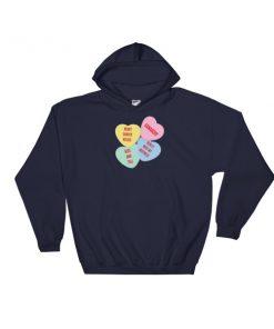 mockup 076ca936 247x296 - Xanarchy Heart Shaped Kisses Hooded Sweatshirt