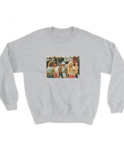 1980s Fashion For Teenager Girls Sweatshirt