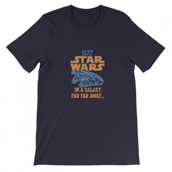 1977 Star Wars Short Sleeve Unisex T Shirt
