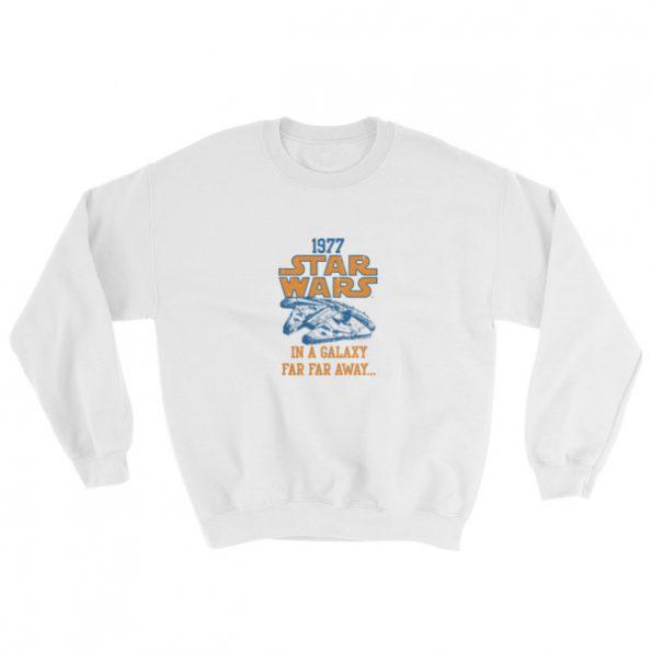 mockup 7a5204ec 595x595 - 1977 Star Wars Sweatshirt