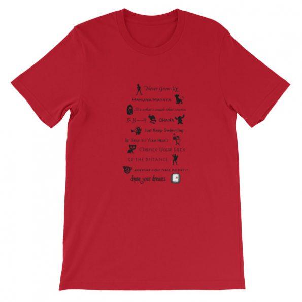 mockup b78e2ad1 595x595 - 11 Best Disney Lessons Short-Sleeve Unisex T-Shirt