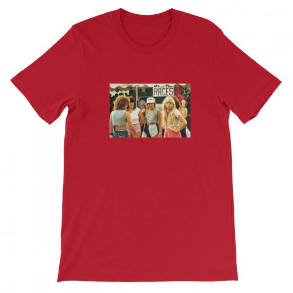 1980s Fashion For Teenager Girls Short Sleeve Unisex T Shirt