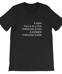 mockup fd1e3b62 247x296 - a man falls in love Short-Sleeve Unisex T-Shirt
