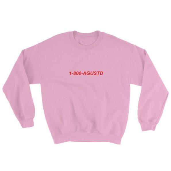 mockup 42b8b8f5 595x595 - 1-800-Agustd Sweatshirt