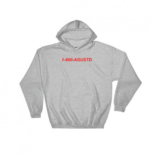 1 800 Agustd Hooded Sweatshirt