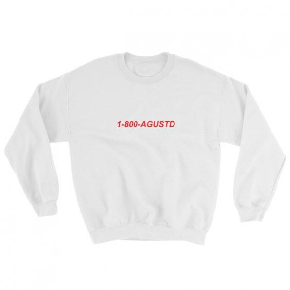 mockup a85218e6 595x595 - 1-800-Agustd Sweatshirt