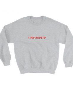 mockup ddb5e198 247x296 - 1-800-Agustd Sweatshirt