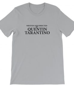 mockup 04729137 247x296 - Written And Directed By Quentin Tarantino Short-Sleeve Unisex T-Shirt