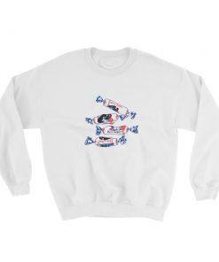 mockup 18d63246 247x296 - White Rabbit Candy Sweatshirt