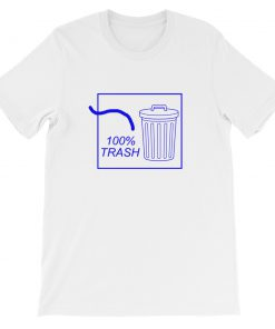 mockup 6c79c3ce 247x296 - 100% TRASH Short-Sleeve Unisex T-Shirt
