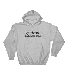 mockup 711c6ad2 247x296 - Written And Directed By Quentin Tarantino Hooded Sweatshirt