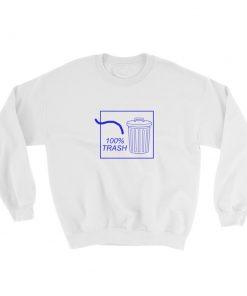 mockup 77cf2f2f 247x296 - 100% TRASH Sweatshirt