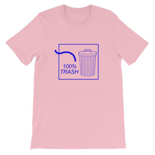 100% TRASH Short Sleeve Unisex T Shirt