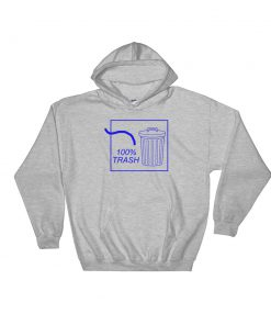 mockup 993becb9 247x296 - 100% TRASH Hooded Sweatshirt