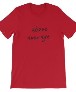 mockup 121daba1 247x296 - Above Average Short-Sleeve Unisex T-Shirt