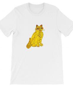 mockup 26280dc1 247x296 - Abba Yellow Cat Short-Sleeve Unisex T-Shirt