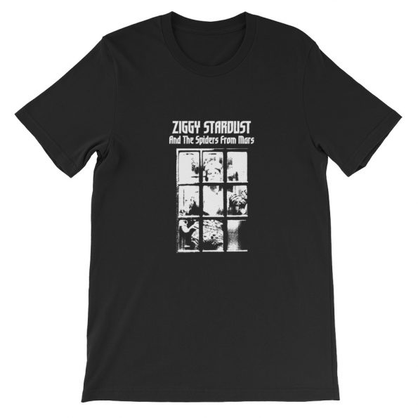 Ziggy Stardust And The Spiders From Mars Short Sleeve Unisex T Shirt
